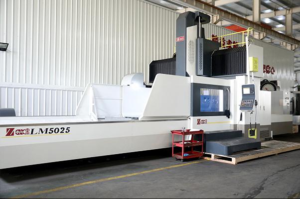 Large parts processing workshop-Longmen machining center